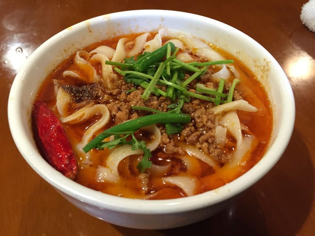 XIANで麻辣刀削麺