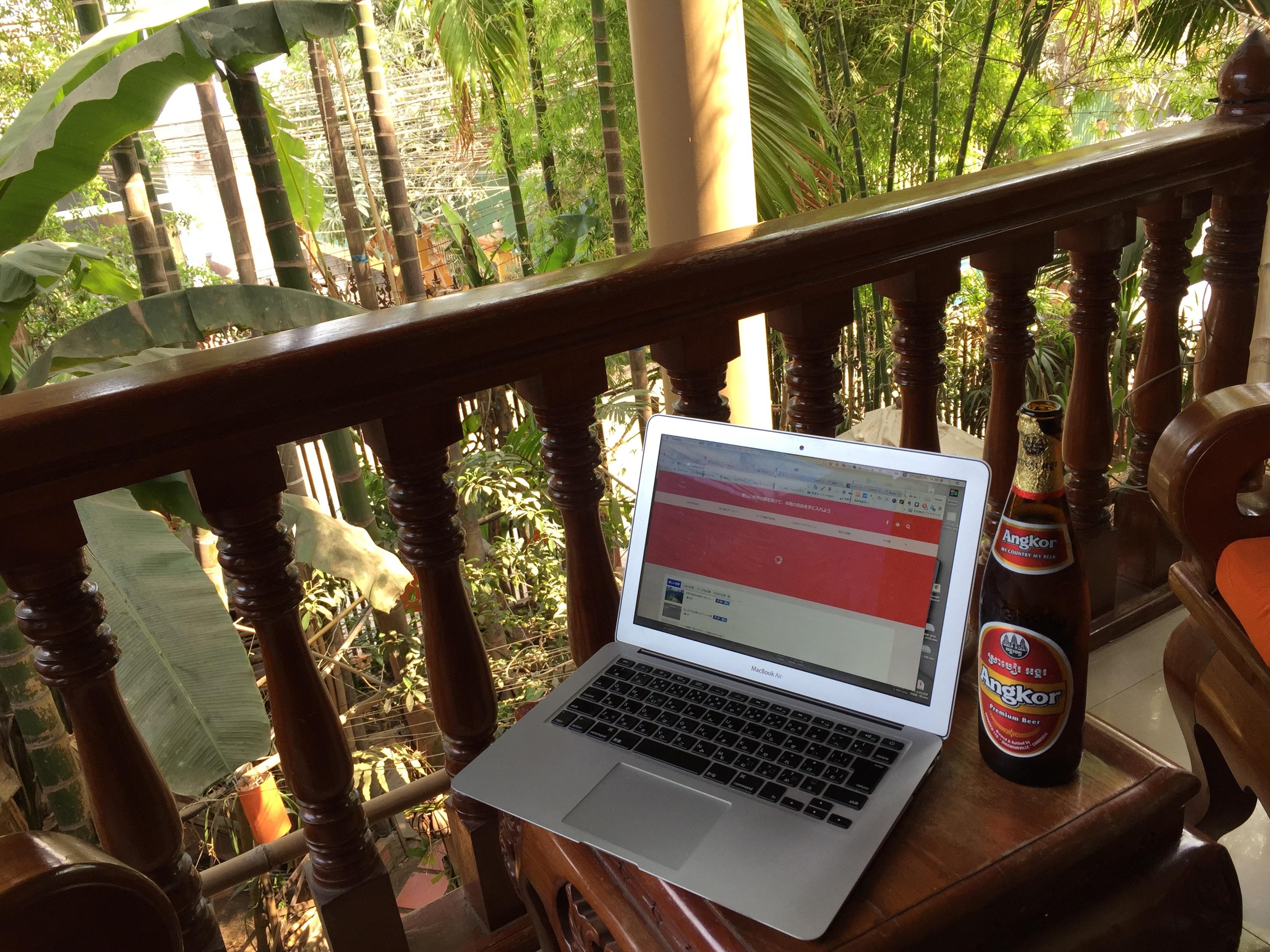 カンボジア初訪問