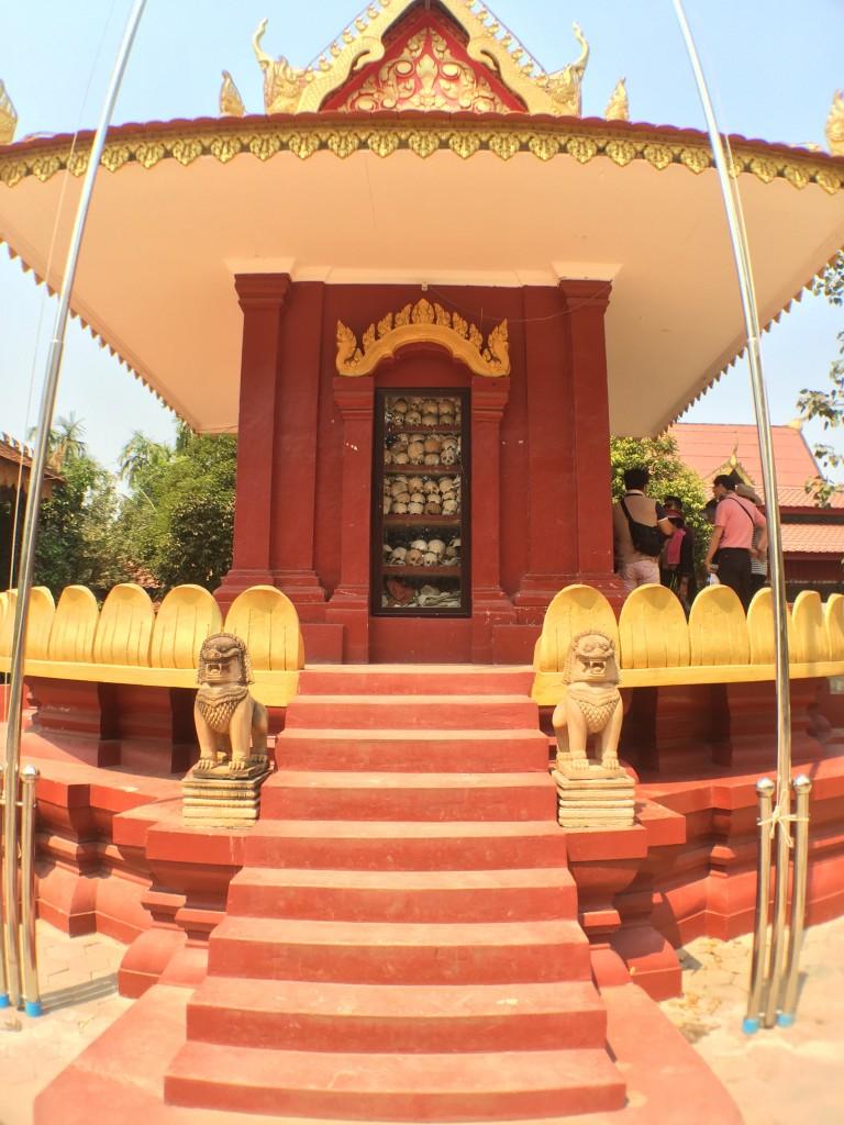 カンボジア・シェムリアップのキリング・フィールド