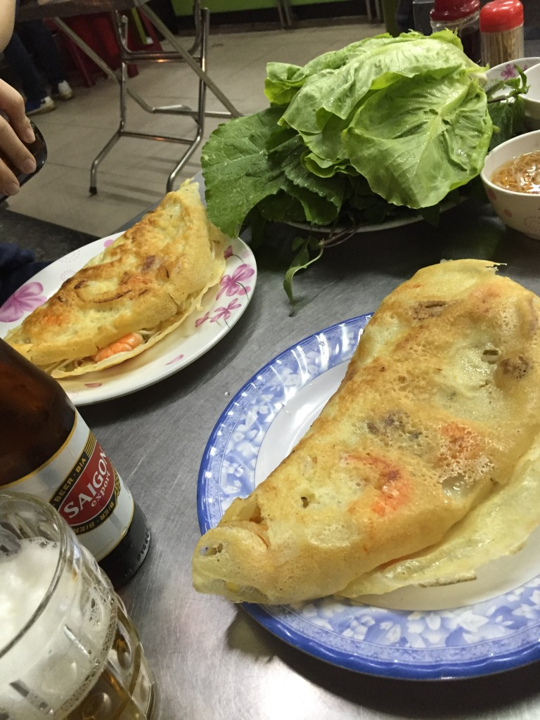 ベトナムのホーチミンでバインセオを食べるならBANH XEO 46A