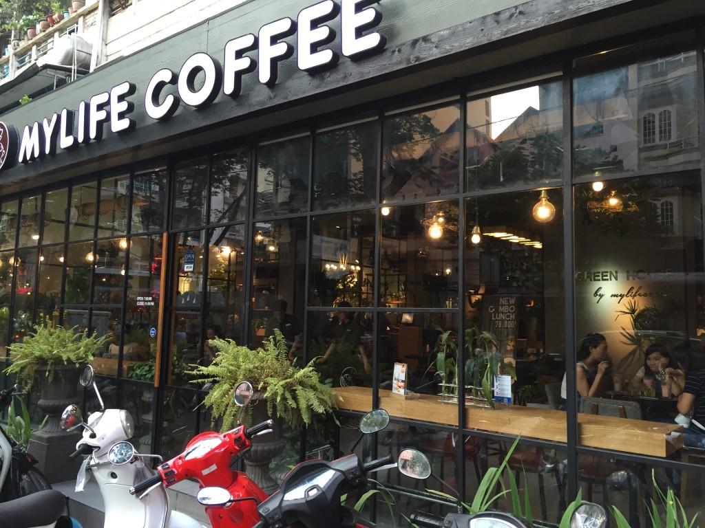 ホーチミンのオススメWiFiカフェ。MY LIFE COFFEE