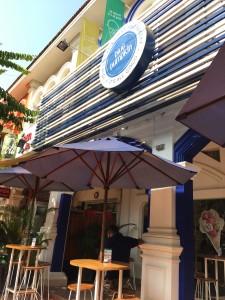 シェムリアップのオススメ無料WiFiスポット第2位 「Blue Pumpkin」(本店)