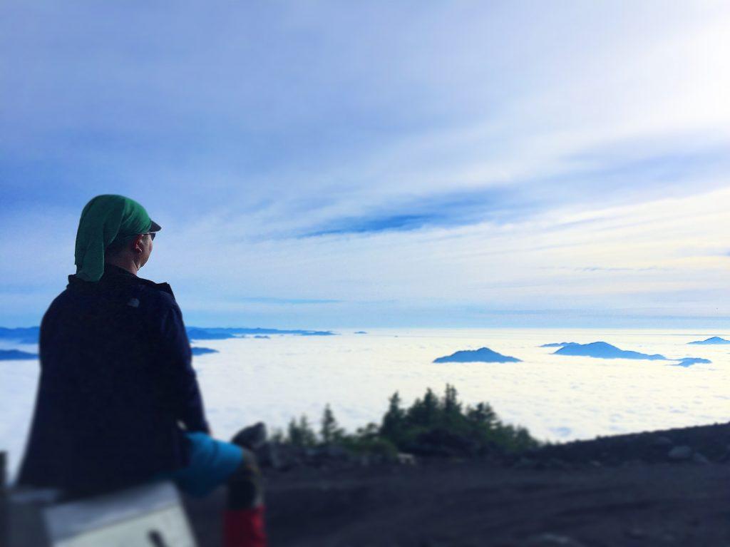 万全の準備で望んだ富士登山