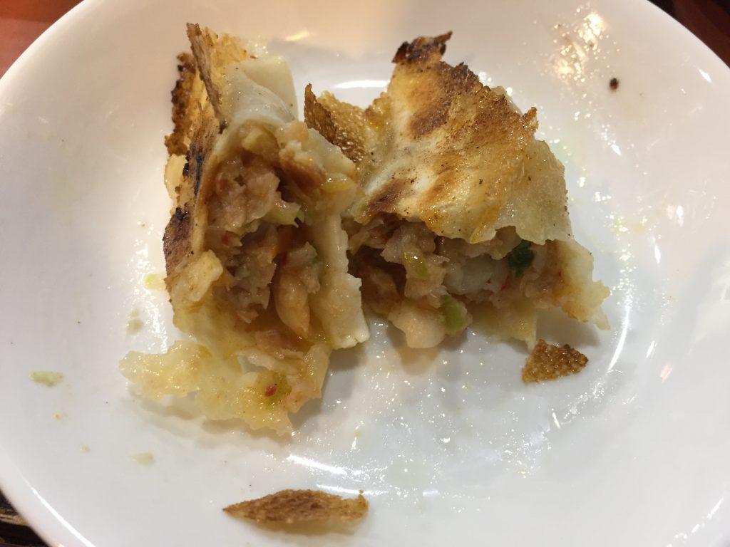 餃子太郎のキムチ餃子