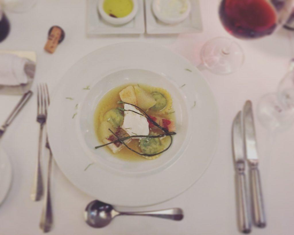 東京の夜景がみえるレストラン「Fish Bank Tokyo」のディナーメニュー