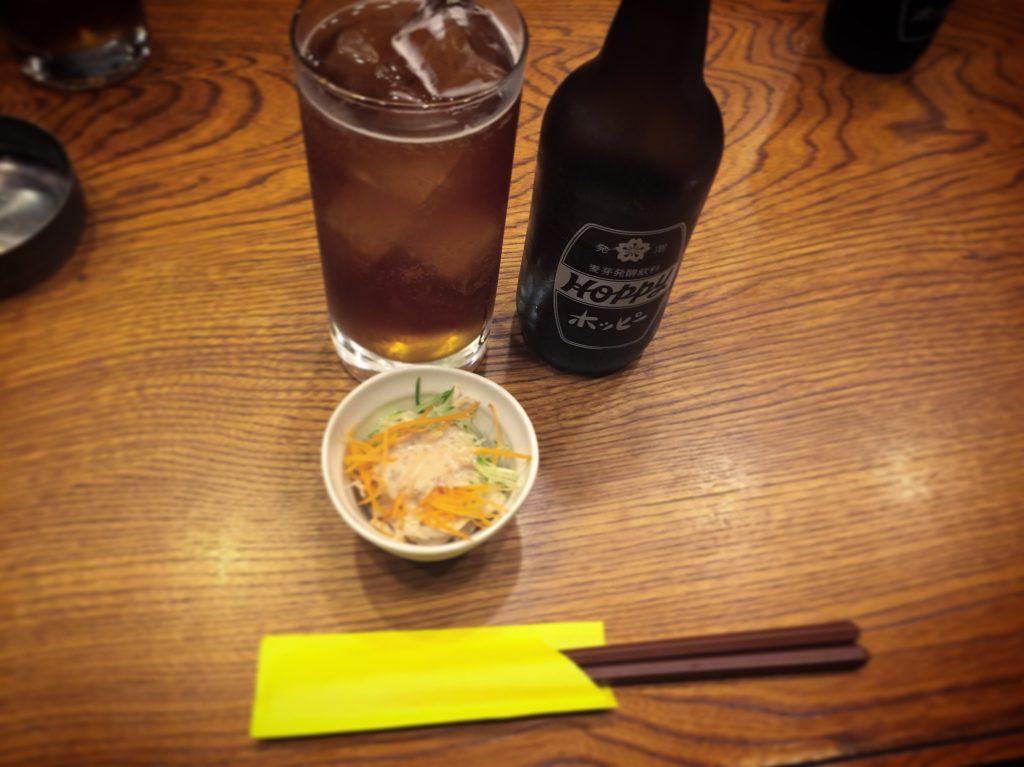 【柏】居酒屋グルメ感覚で楽しめる「食事処とんき」のホッピーセットが良心的!
