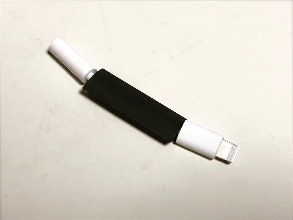 【100均で簡単補強】ライトニング(lightning)iPhoneケーブルを熱圧着✨