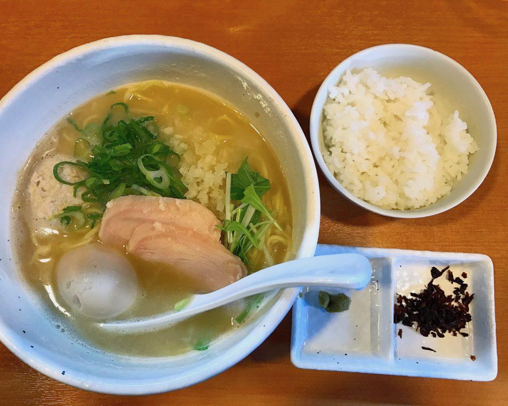 【亀有】ラーメン銀杏の鶏SOBA塩が美味しすぎてリピート中✨