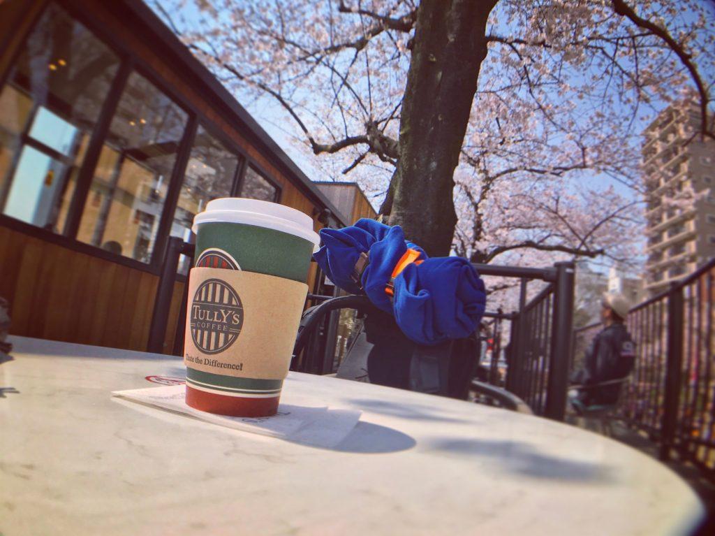【東京の絶景カフェ】お花見のベストスポット発見✨(隅田公園タリーズ)