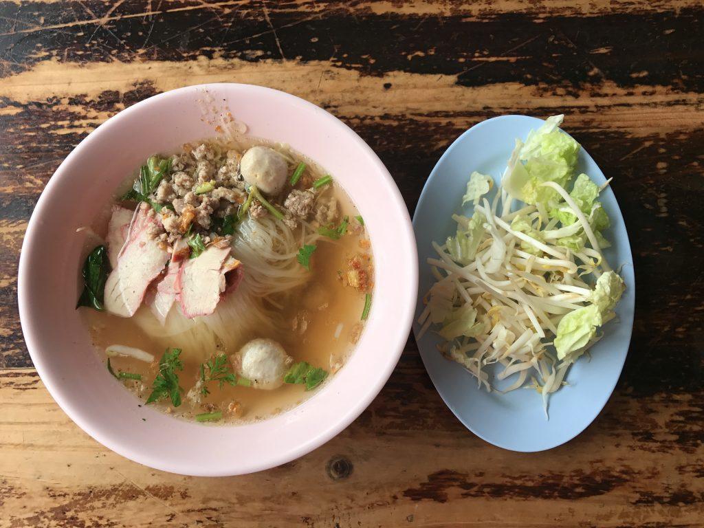 Goy Teaw Moo - 豚肉のクエイティアオ(35B)
