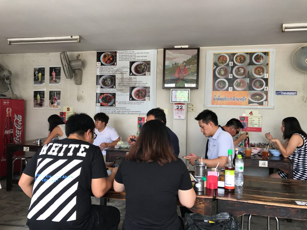 カオソーイの有名店「Khao Soi Mae Sai」で別料理に挑戦(その2)