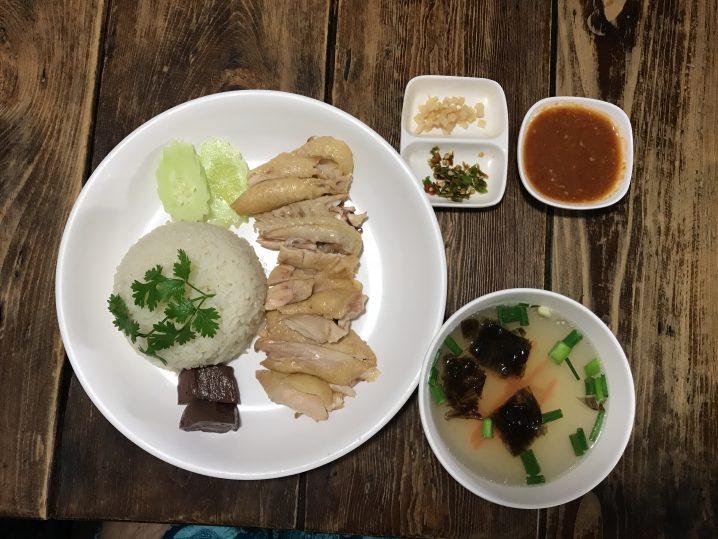 チェンマイのさっぱりした美味しいカオマンガイのお店「Chicken rice Koyi」