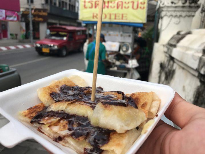チェンマイで一番有名なロティーの屋台「ROTEE PADAE」再訪