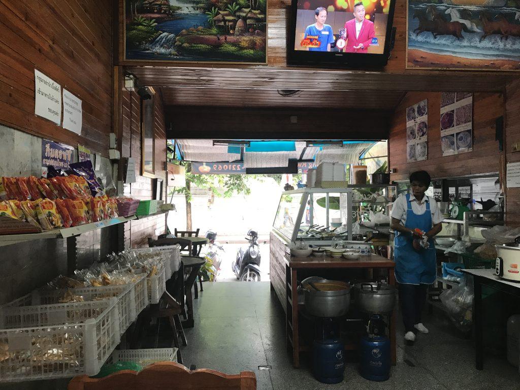 Ming Kwan Vegetarian Restaurantの店内