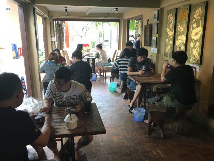 Khao Soi Nimmanの店内