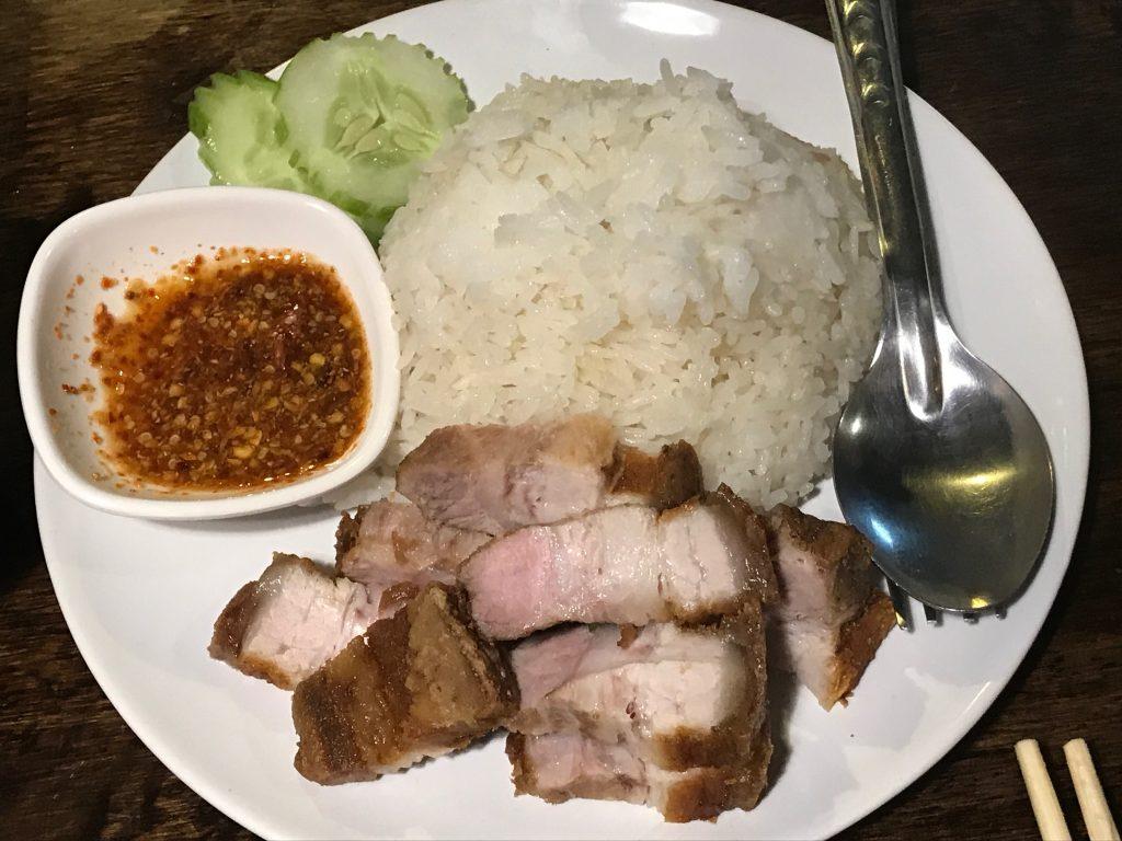 5. Crispy Pork Rice(170円)