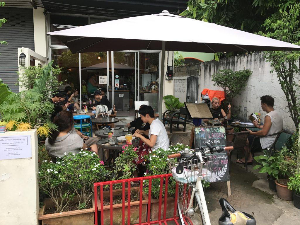 The Larder Cafe & Barの外観