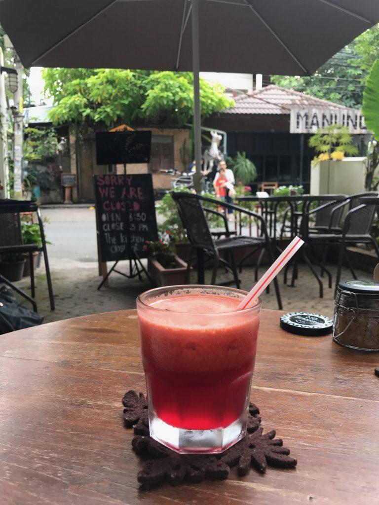 Freshly Squeeze Juice(250円)