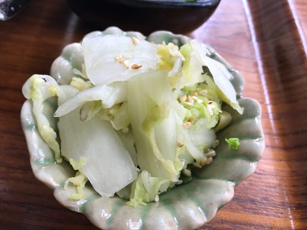 鯖塩焼き定食(500円)