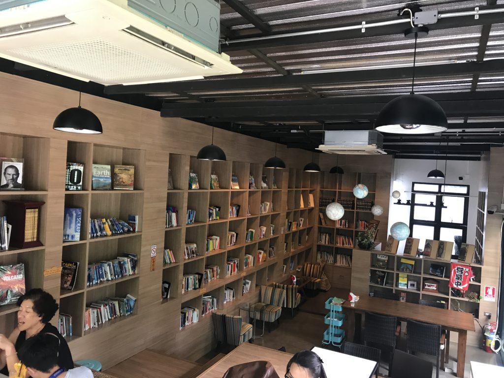 Library Coffeeの店内