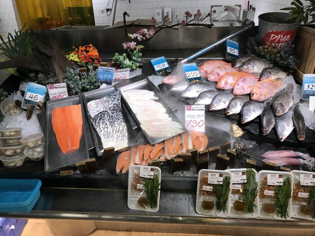魚コーナー