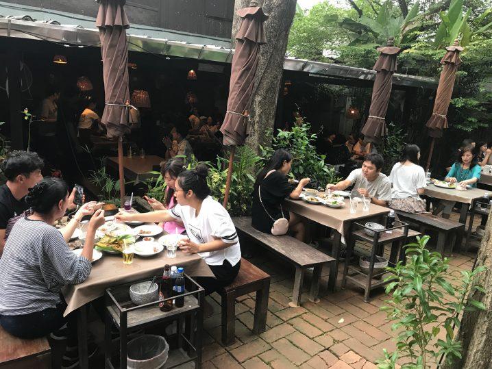 チェンマイの人気レストランTONG潜入レポート(再訪)