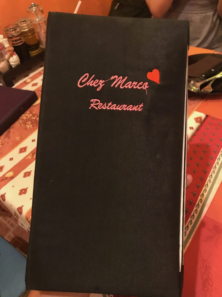 Chez Marco Restaurant and Barのメニュー