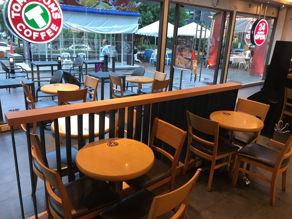 Tom N Tom Coffeeの店内