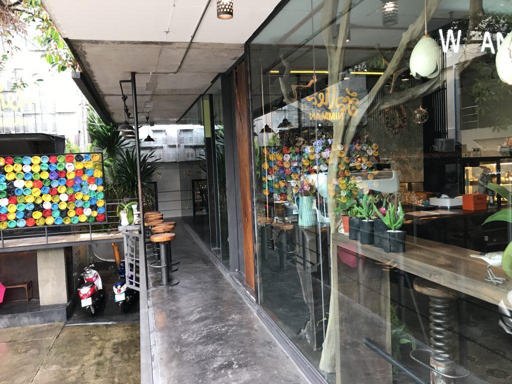 Waan Cafeの外観