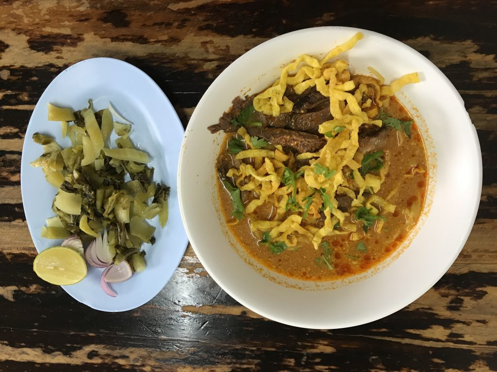 Khao Soi -beef(160円)