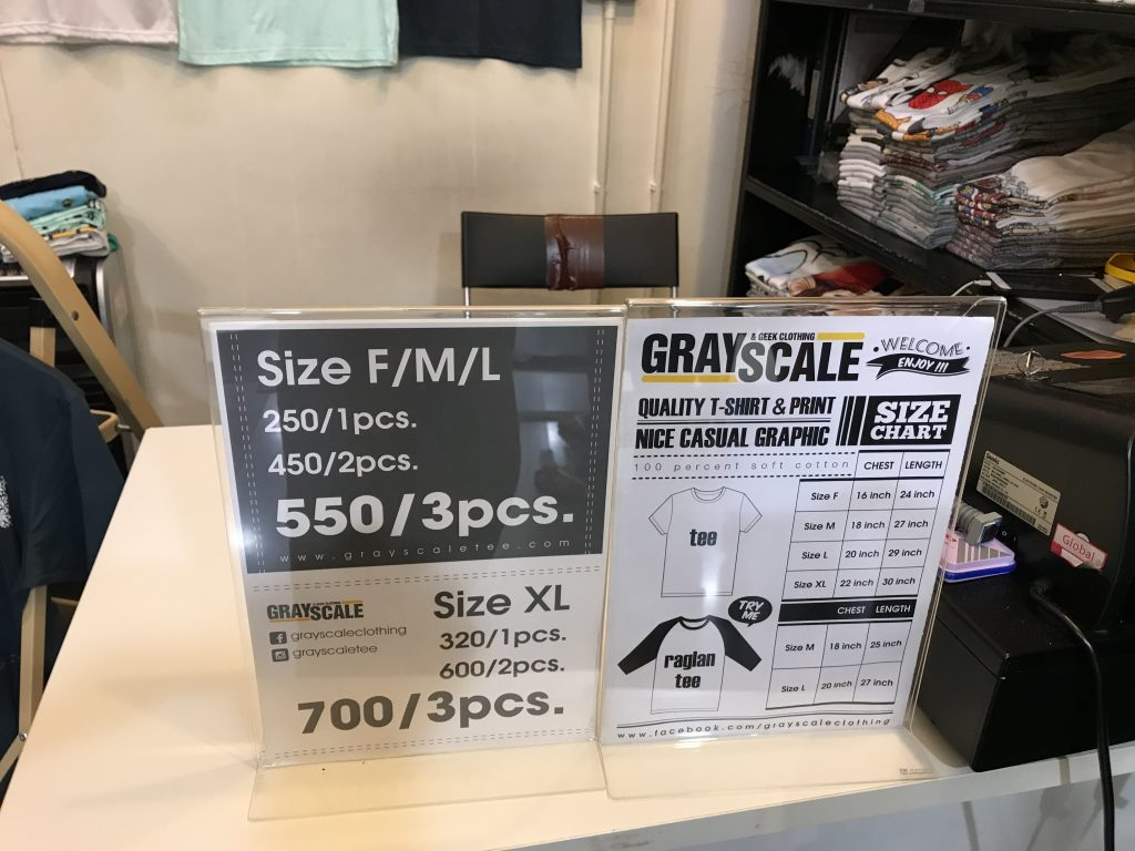 Platinum Fashion MallにあるGRAY SCALE