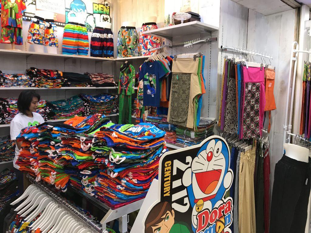 バンコクでお洒落なタイパンツ買うならココ