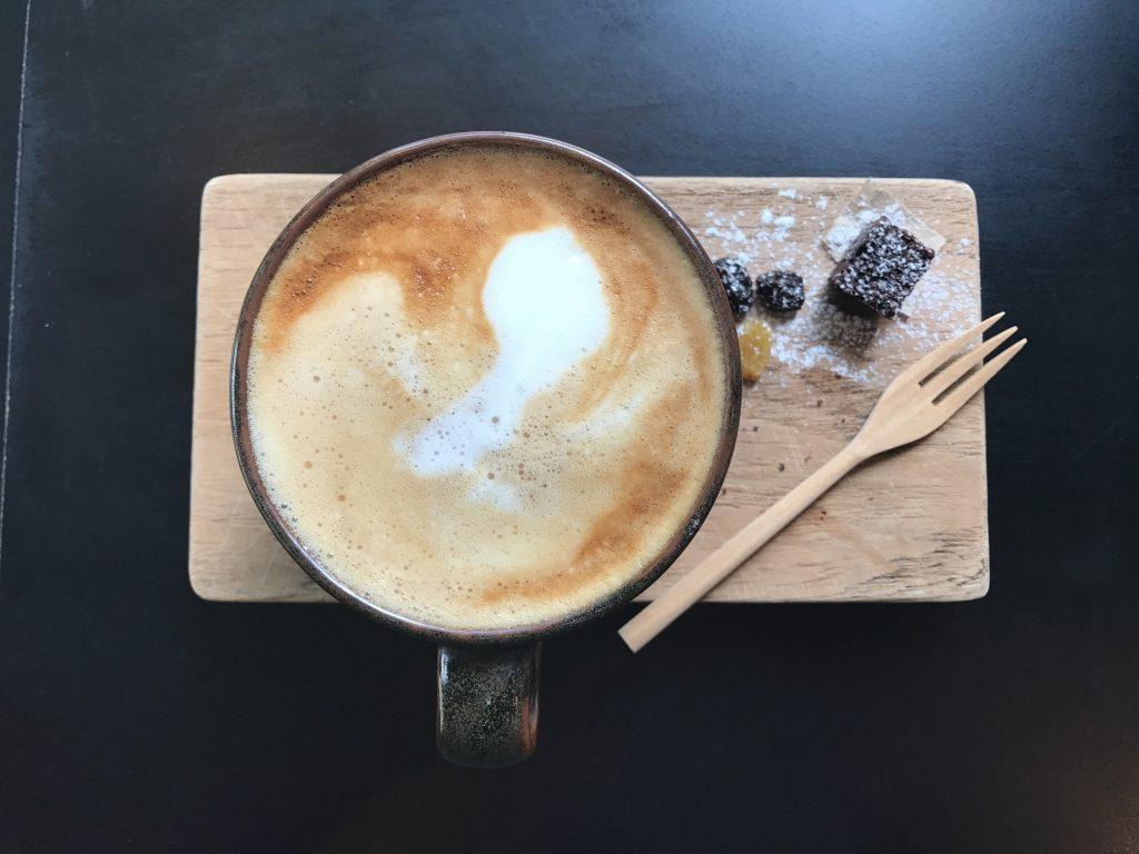 Latte(Hot)250円