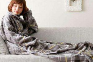 着る毛布?Groonyがあれば冬でも暖房いらず?