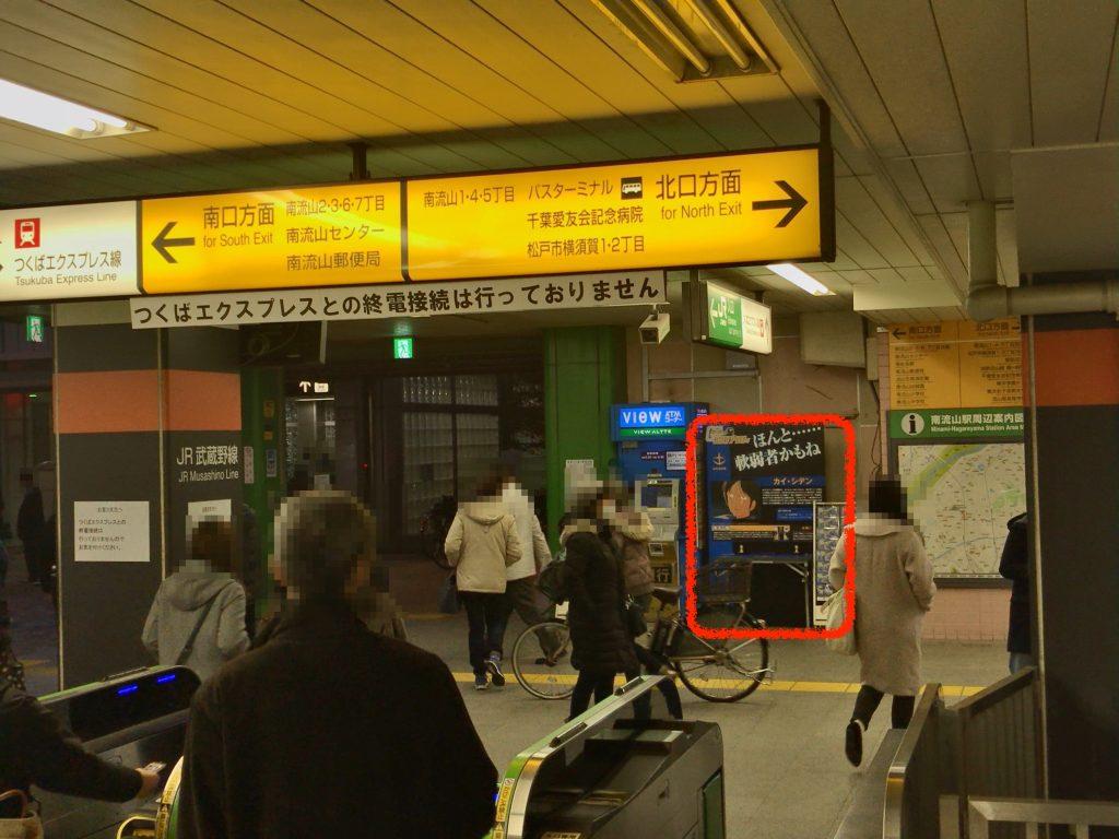 伊勢崎線:南流山駅(カイ・シデン)