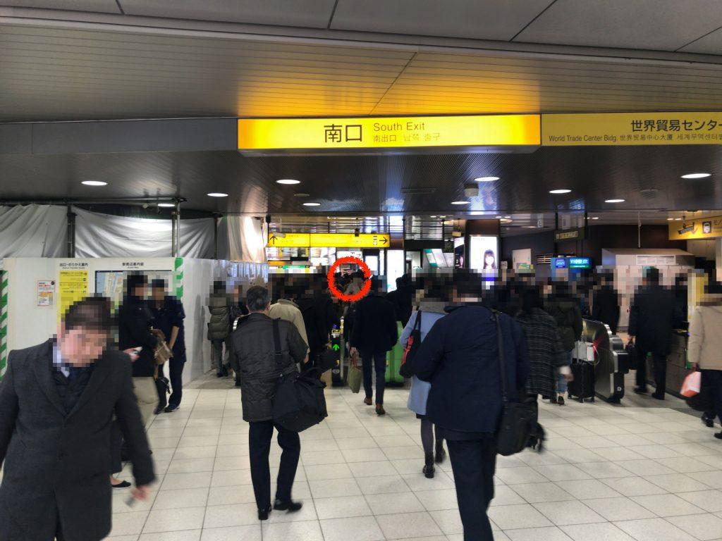 浜松町駅(ズゴック)