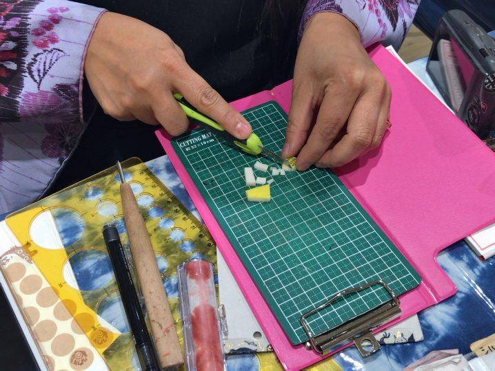 かわいい手作りハンコがケース付きで1,000円(熊本)