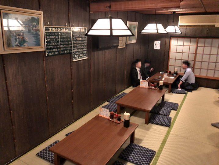 綾瀬の最強居酒屋「味安」の2階席デビュー✨