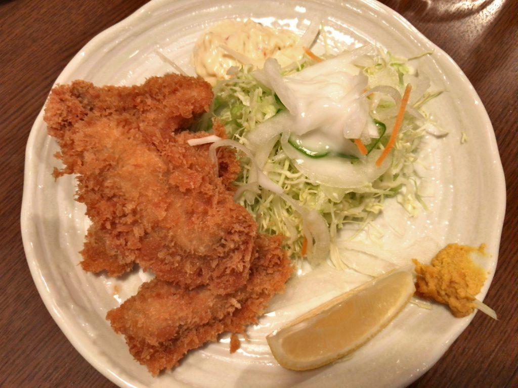 生カキフライ(4個・730円)