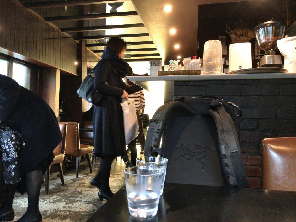 カヤバ珈琲の店内