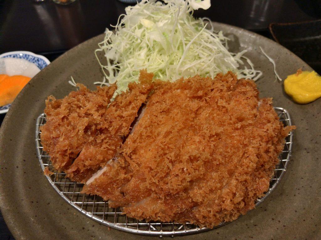 とんかつ瓢の上ロースカツ定食(1,400円)