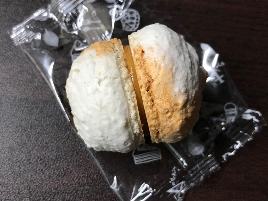 マカロン(塩キャラメル)