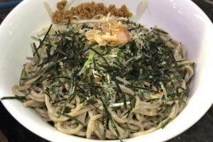 【柏】つけ蕎麦六文銭の魚介つけ蕎麦400g(780円)に挑戦!