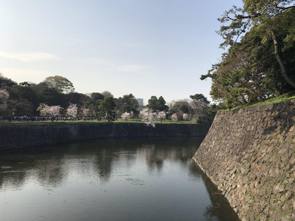 ⑥西桔橋から皇居東御苑へ