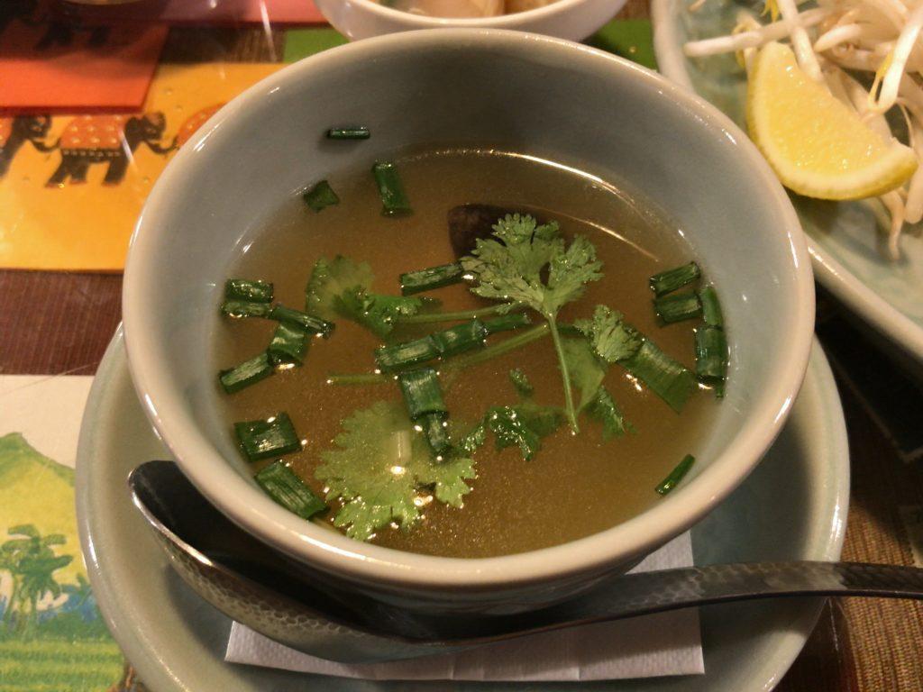 トムヤムスープ(セット)