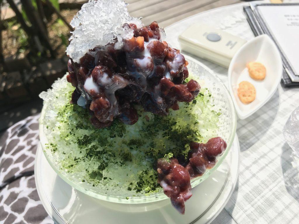 かき氷(宇治金時)500円 ー夏季限定ー