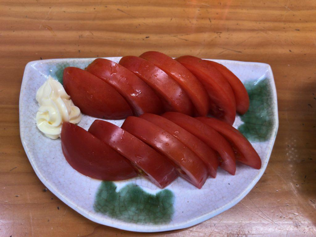 冷トマト(350円)