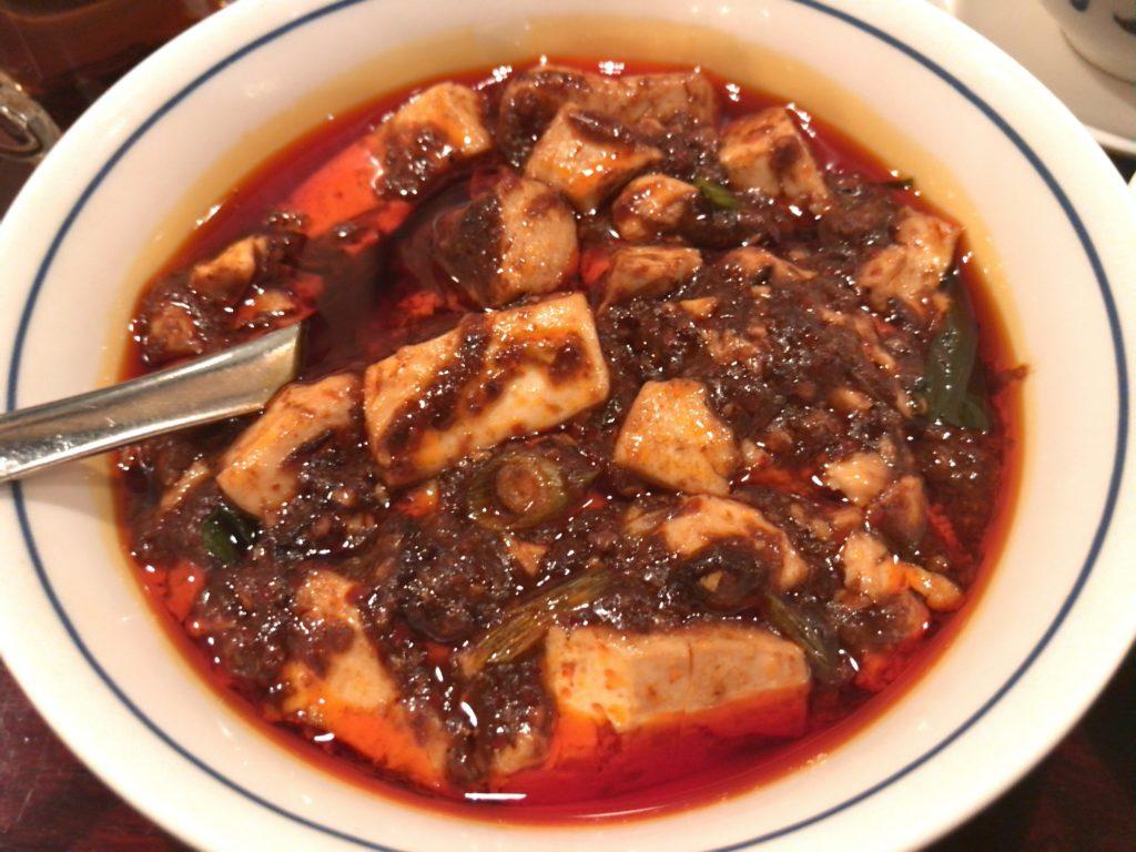 陳麻婆豆腐の麻婆豆腐