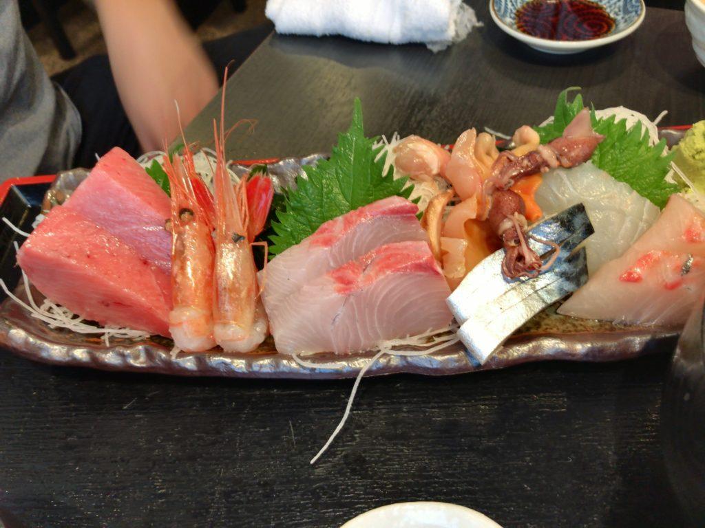 さかなや(本店)の豪華海鮮丼の食べ方