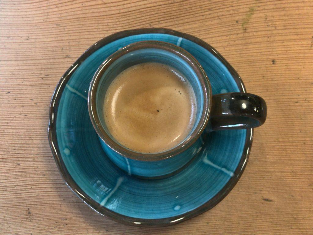 ビストロ男前のセットコーヒー(ホット)